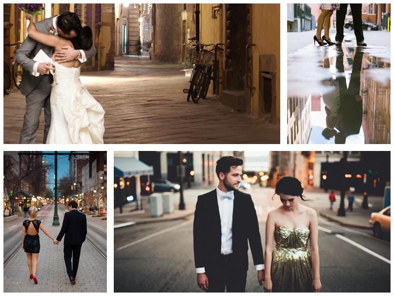 Свадебная прогулка по улицам Петербурга