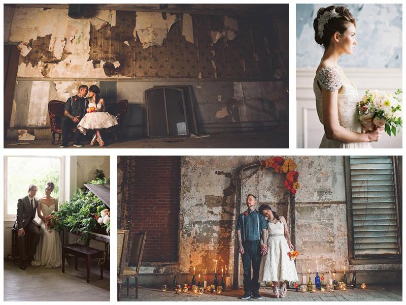 Свадебная фотосессия на заброшенных усадьбах Питера