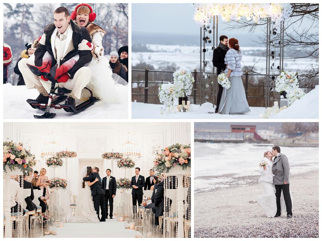 свадебная фотосессия зимой красивые места