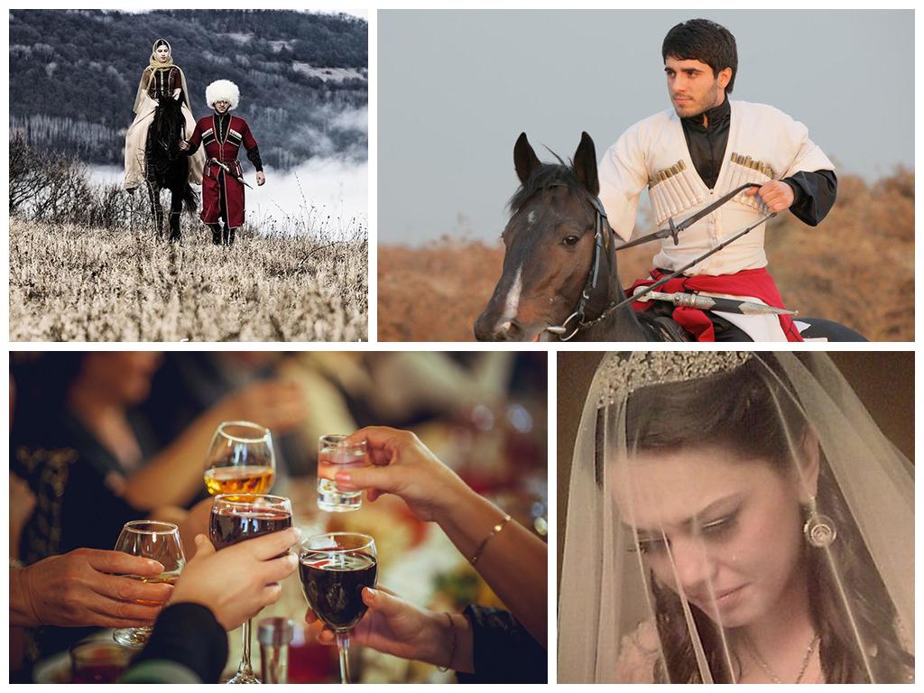 свадебные традиции на кавказе фото