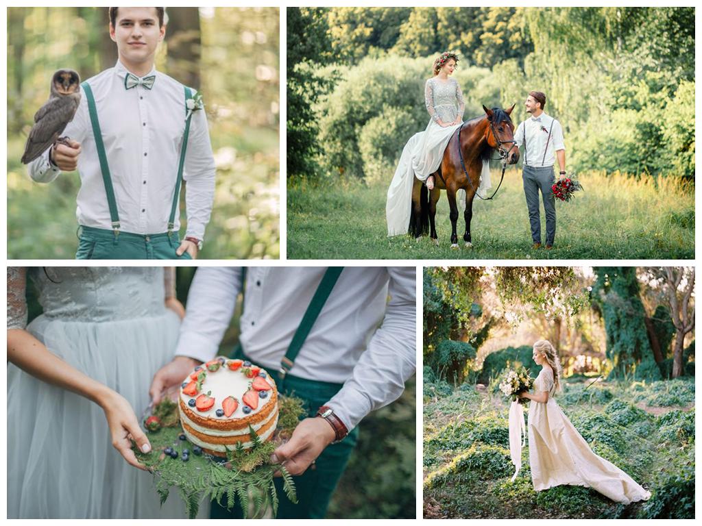 Сценарий свадьбы в лесном стиле