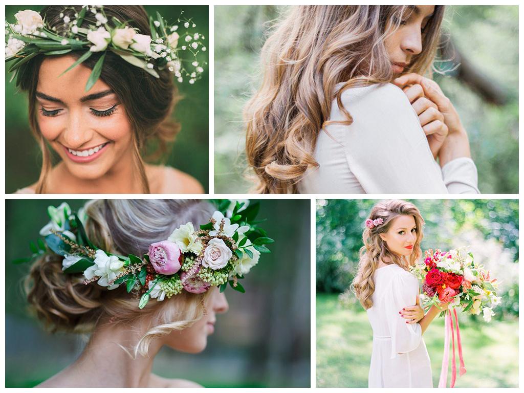 Одежда молодоженов и гостей на свадьбе в лесном стиле