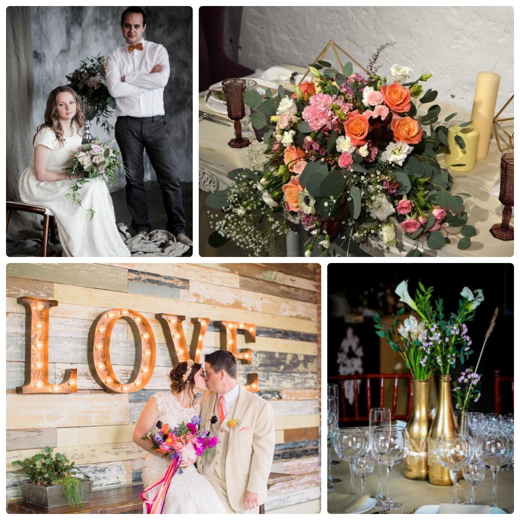 Свадьба стиле лофт фото