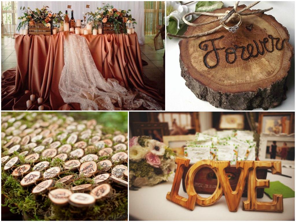 свадьба в коричневом цвете 2017