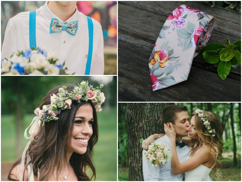 цветочная свадьба 2017