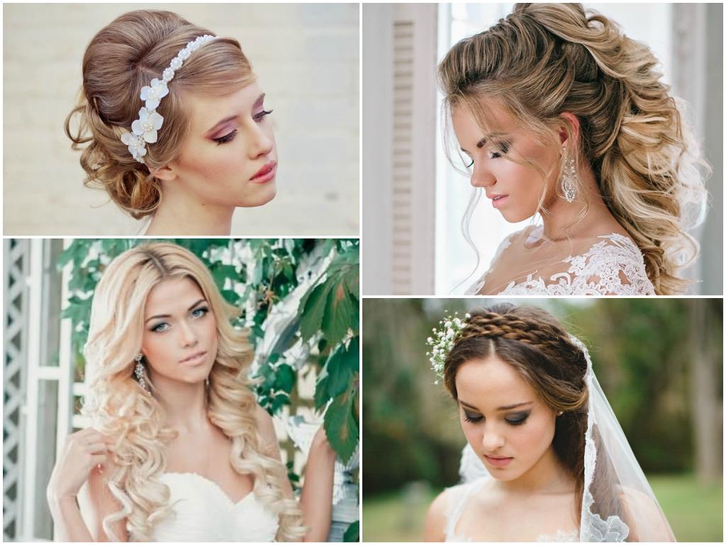 модные тенденции в свадебных прическах 2017