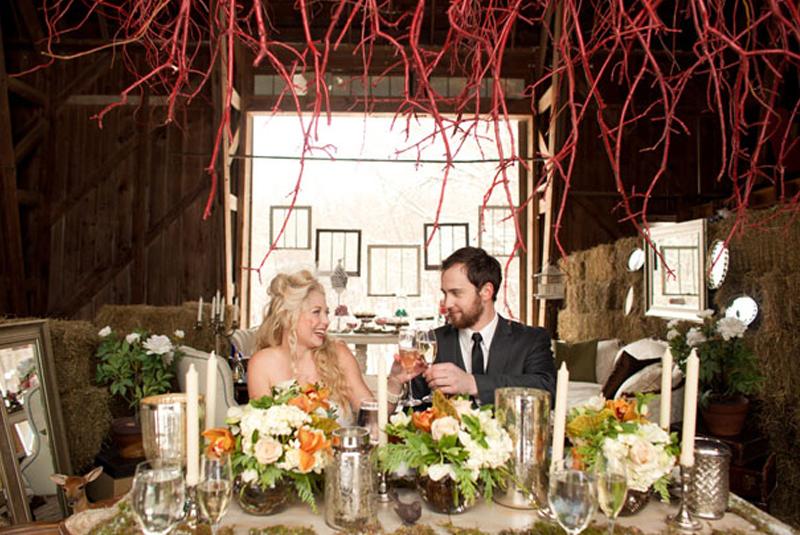 свадьба осенью, Свадебная фотосессия