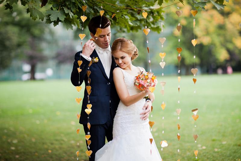 Свадебная фотосессия на природе идеи