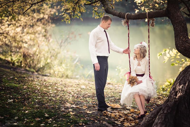 в чем идти на свадьбу осенью