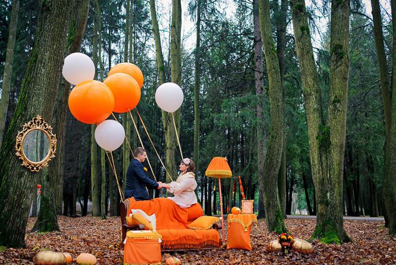 осень пора свадеб