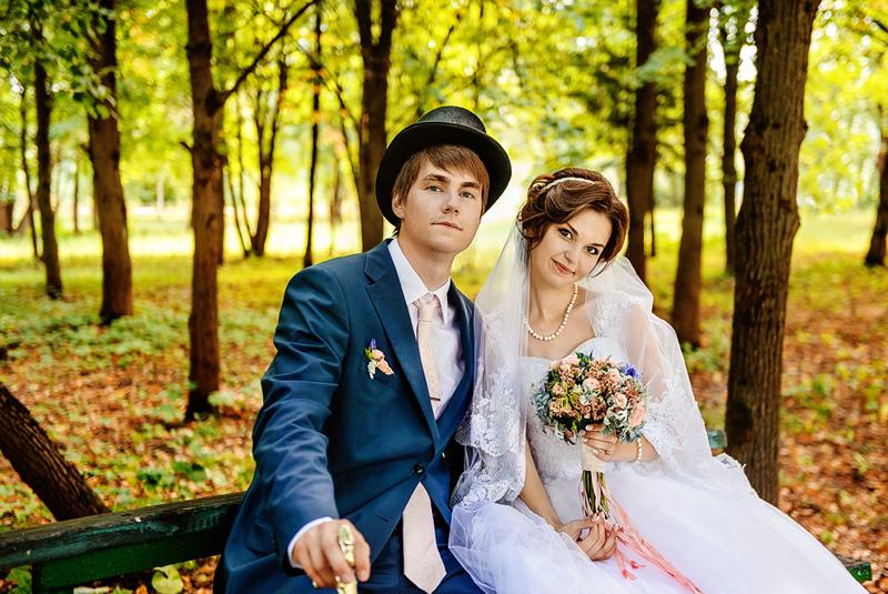 свадьба осенью фото гостей