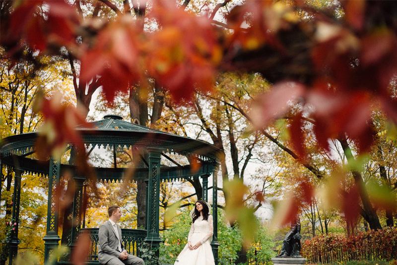свадьба осенью года