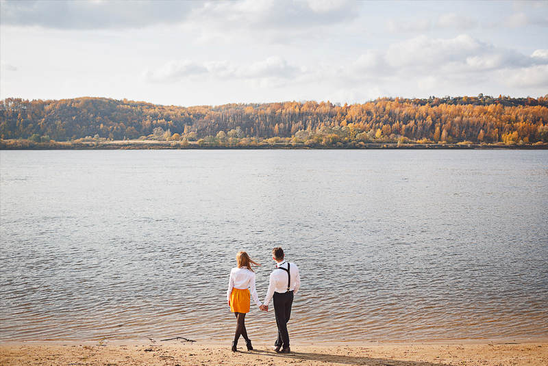 наряд на свадьбу для гостей осенью