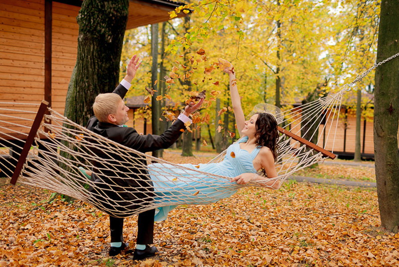 свадьба в стиле осень