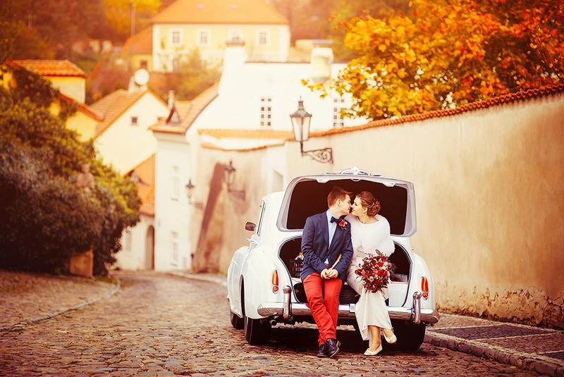 свадьба осенью что одеть гостям