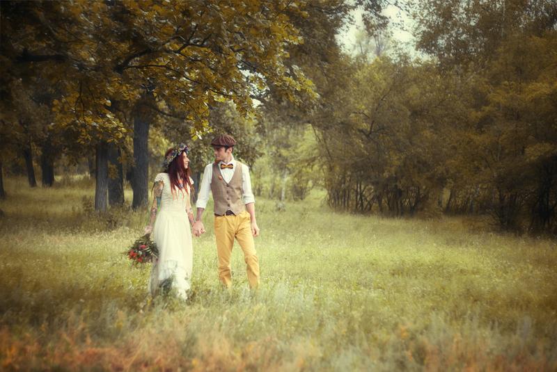 что одеть на свадьбу осенью гостье