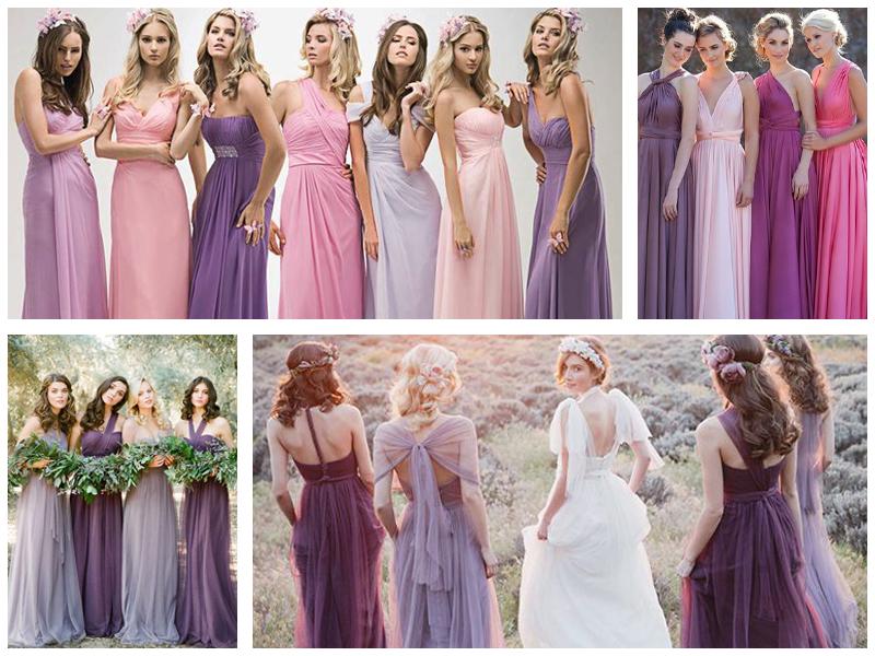 Платья подружек невесты  8 актуальных трендов cf299b3c7451e