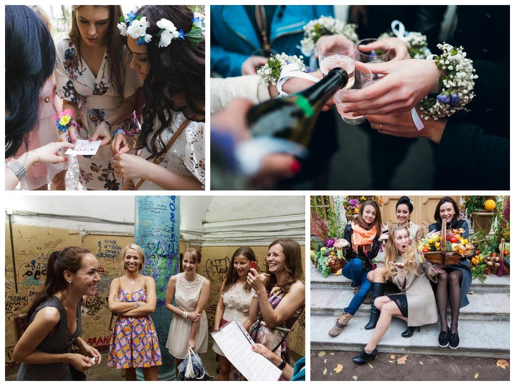 Как разнообразить свадебную фотопрогулку: квест для гостей.