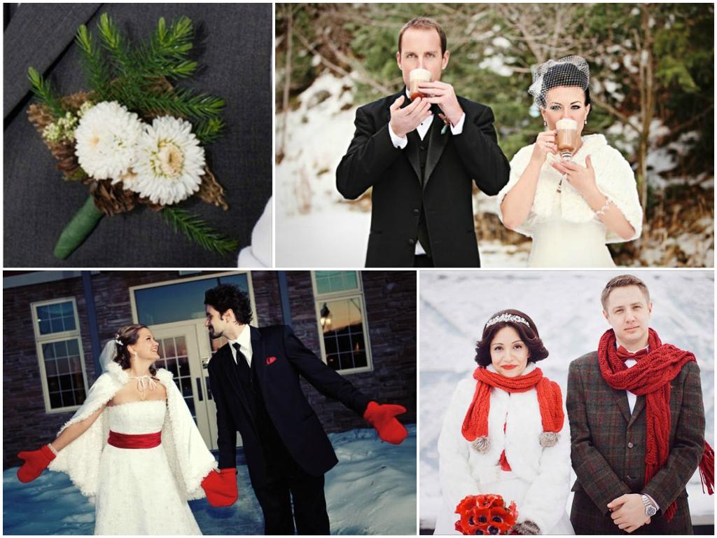 Костюм жениха рождественская свадьба