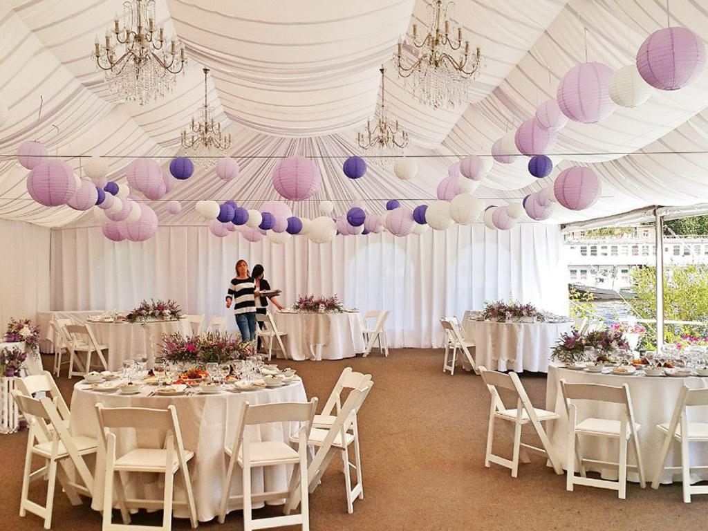 Свадьба в шатре: подборка заведений в Санкт-Петербурге