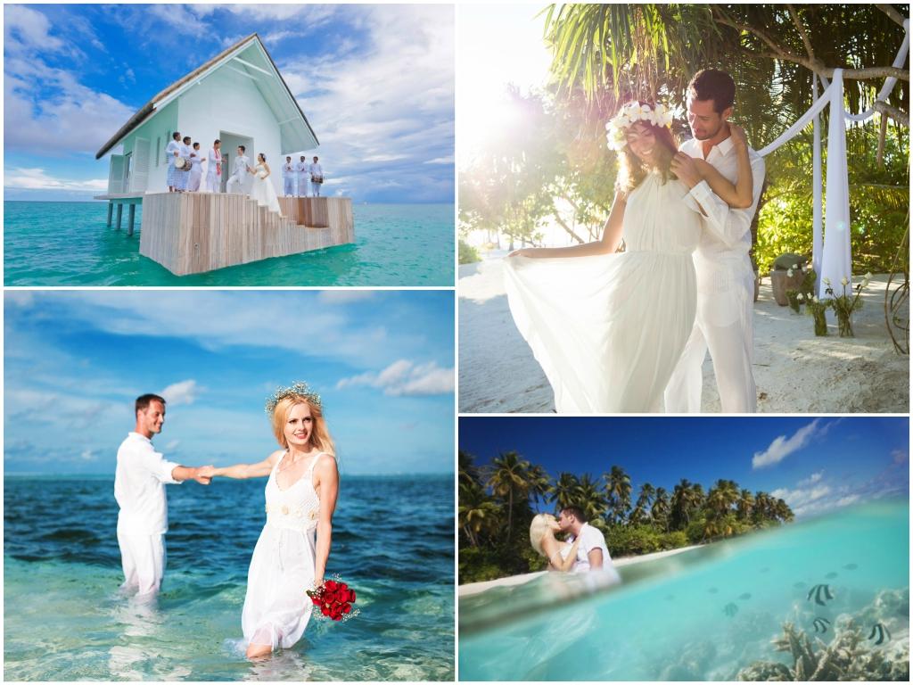 символическая свадьба на мальдивах