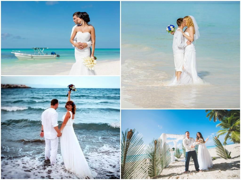 символическая свадьба на карибских островах