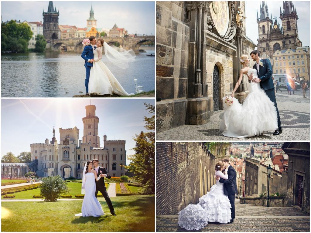 символическая свадьба в чехии