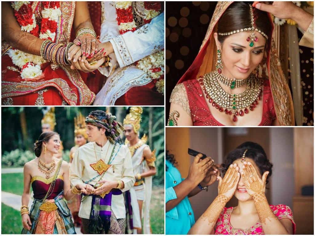 символическая свадьба в индии
