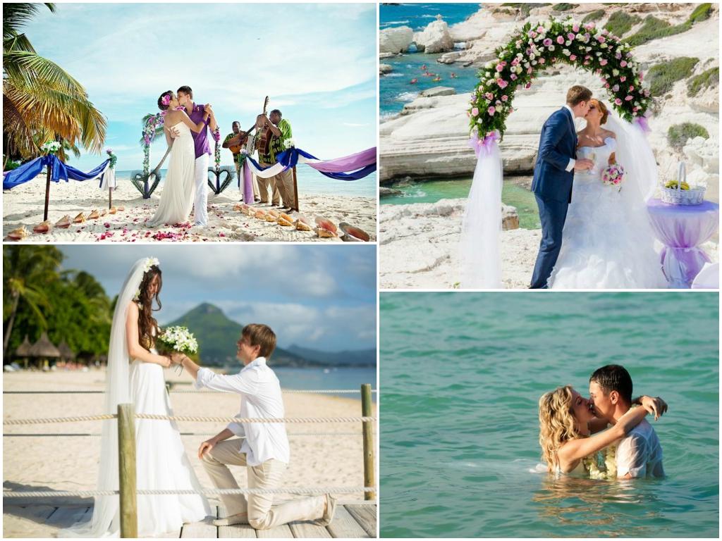 символическая свадьба на маврикии