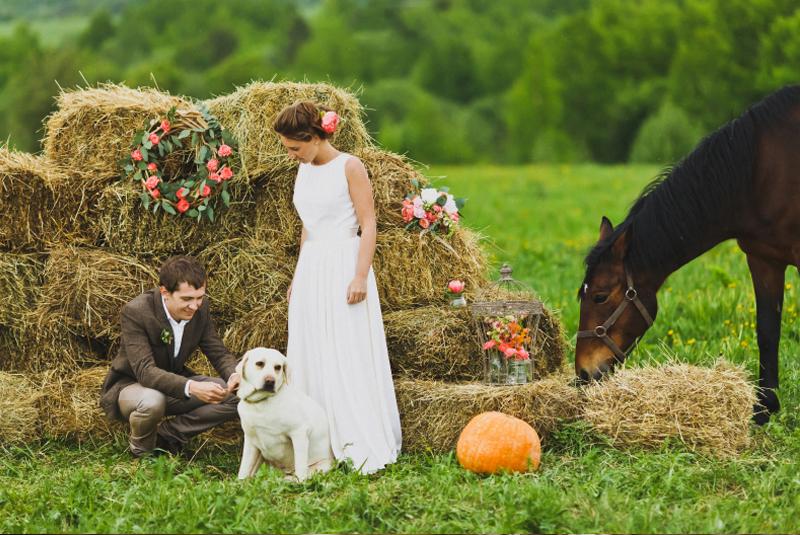 платье на свадьбу весной фото