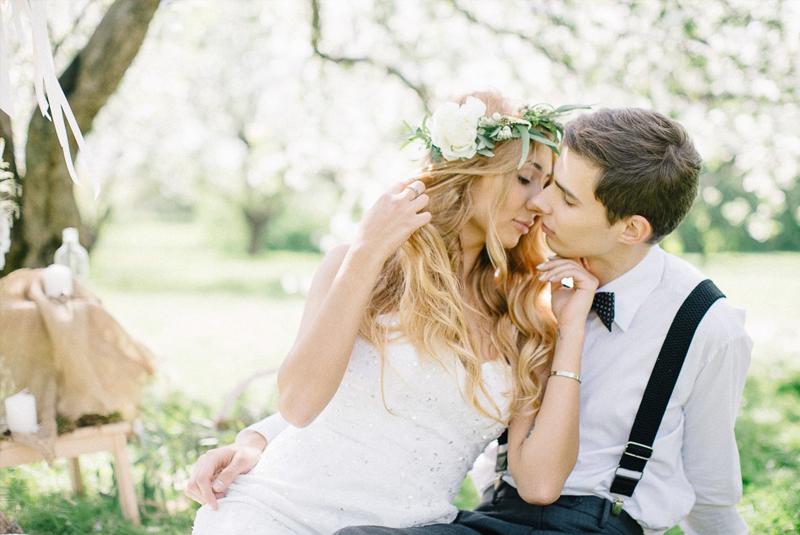 что одеть на свадьбу весной девушке фото