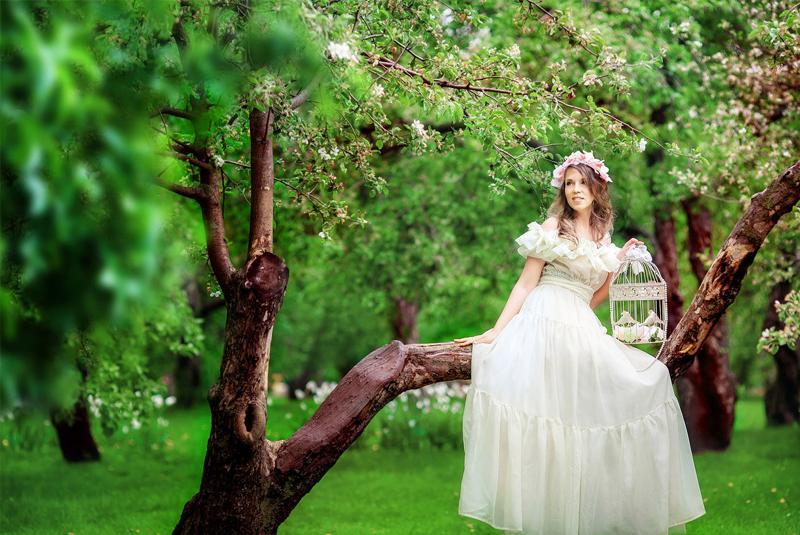 день свадеб весной