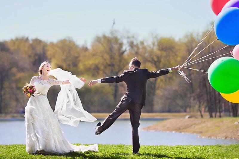 что одеть на свадьбу весной