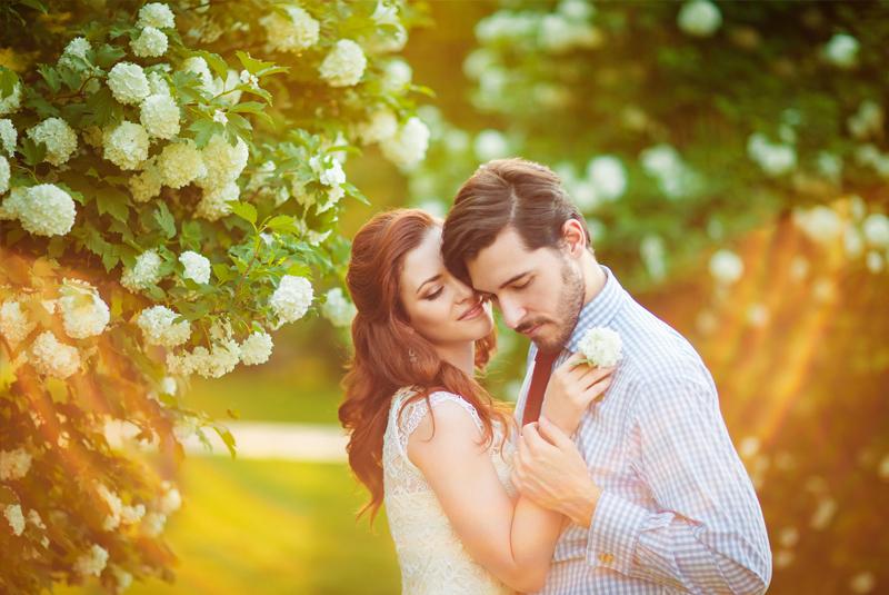 свадьба весна