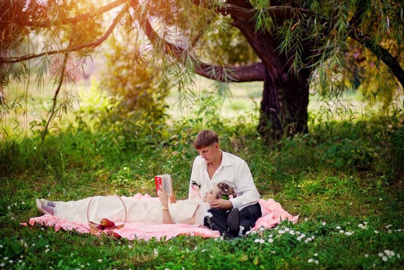 свадьба весной идеи