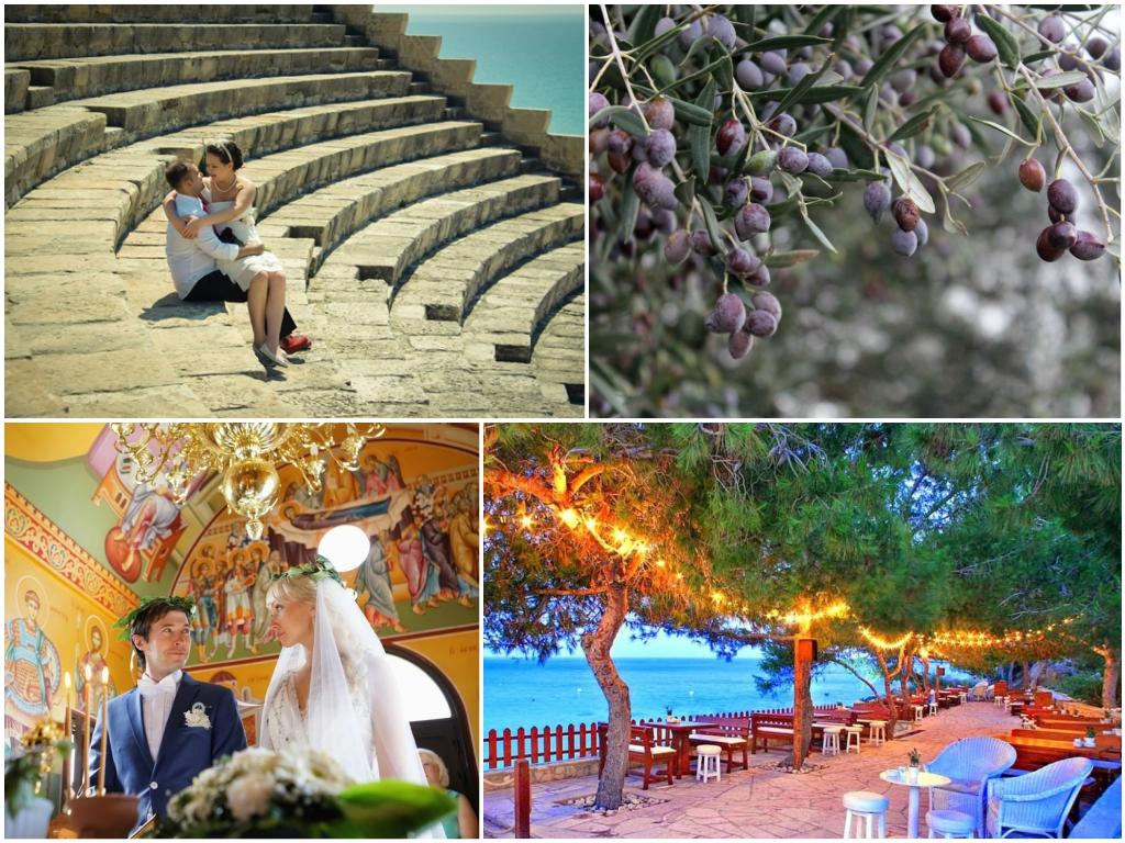 свадьба на кипре курорт протарас