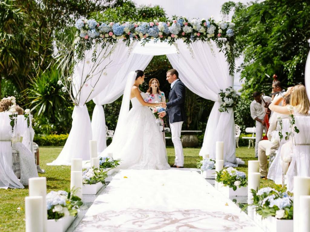 Свадьба на Маврикии