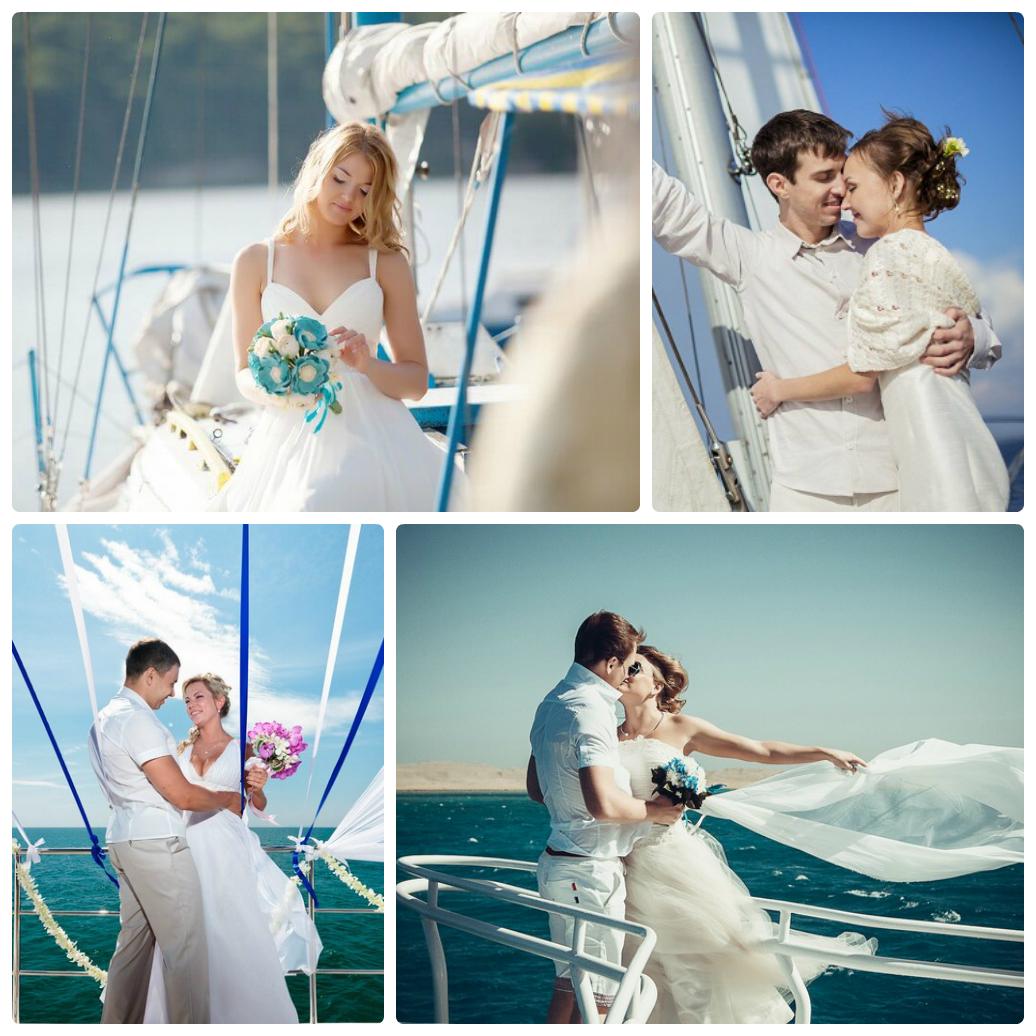 свадьба на море
