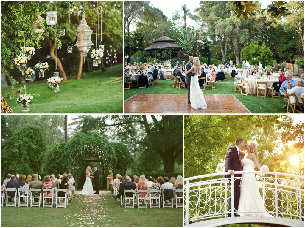 свадьба в парке