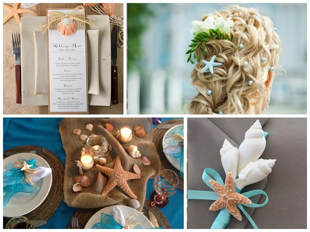 свадьба на пляже украшение места церемонии