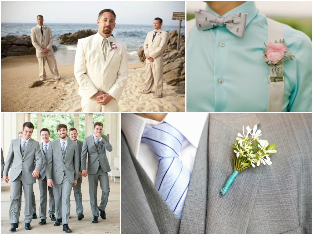 свадьба летом костюм жениха