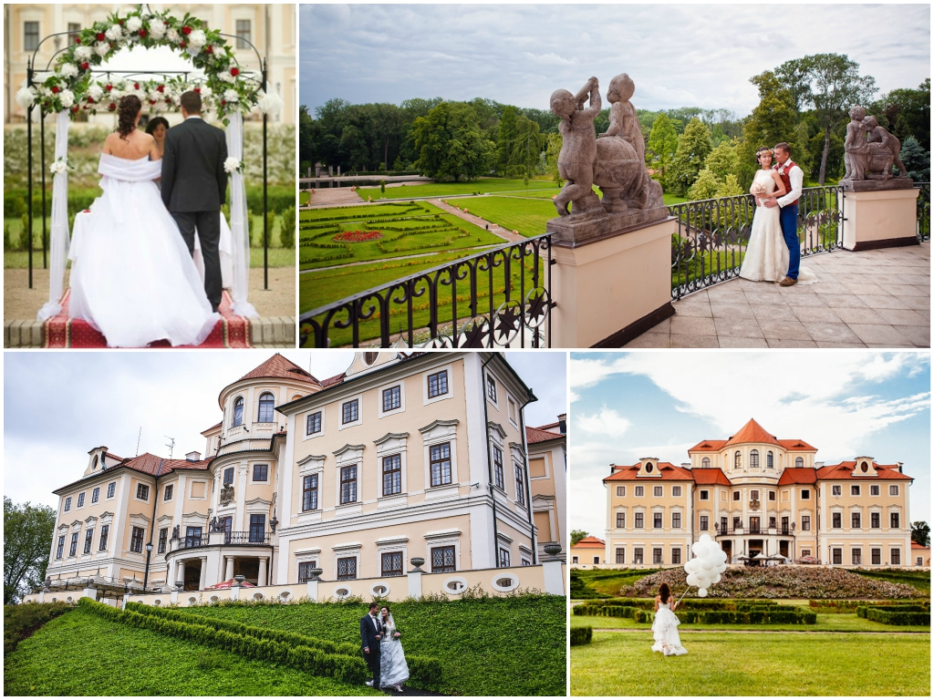 свадьба в чехии Замок Либлице