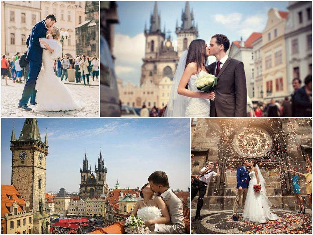 свадьба в чехии Старогородская Ратуша