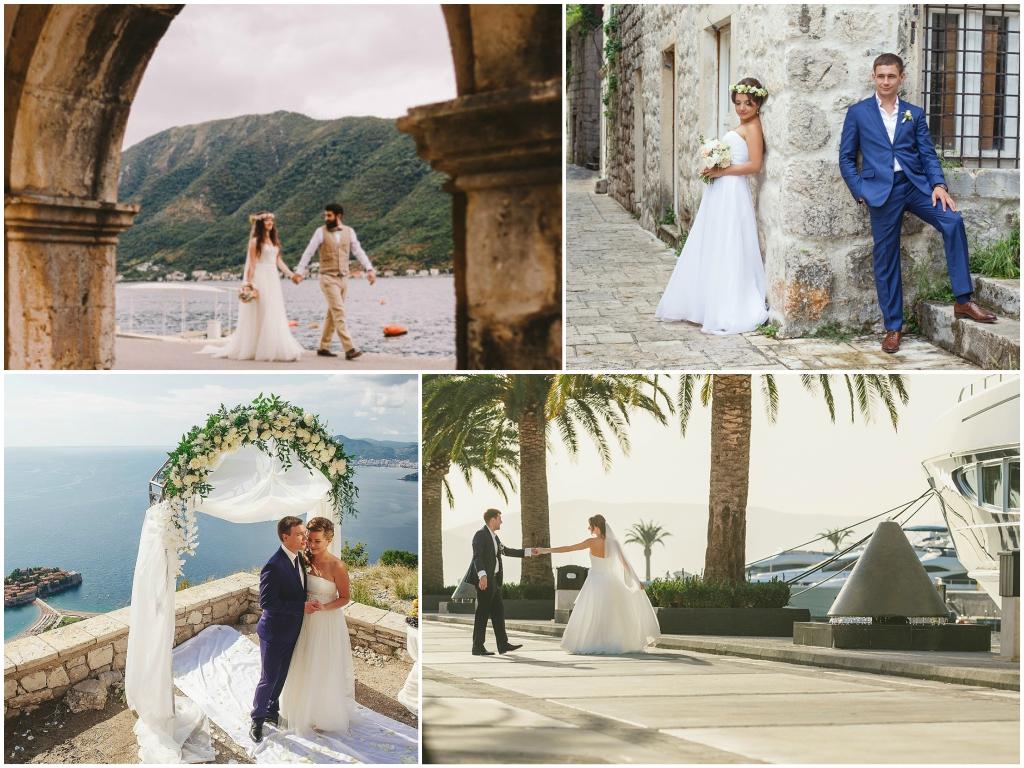 Как организовать свадьбу в Черногории