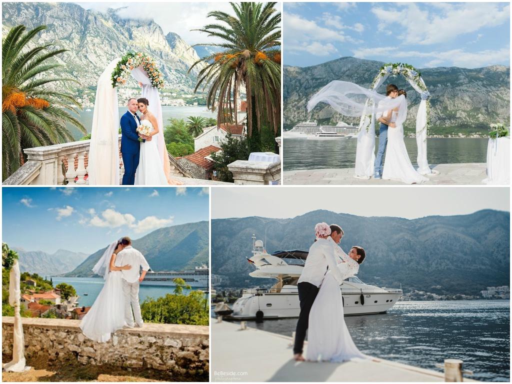 официальное бракосочетание в Черногории