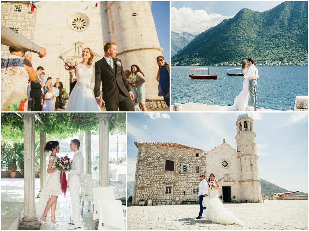 свадьба В Перасте в Черногории