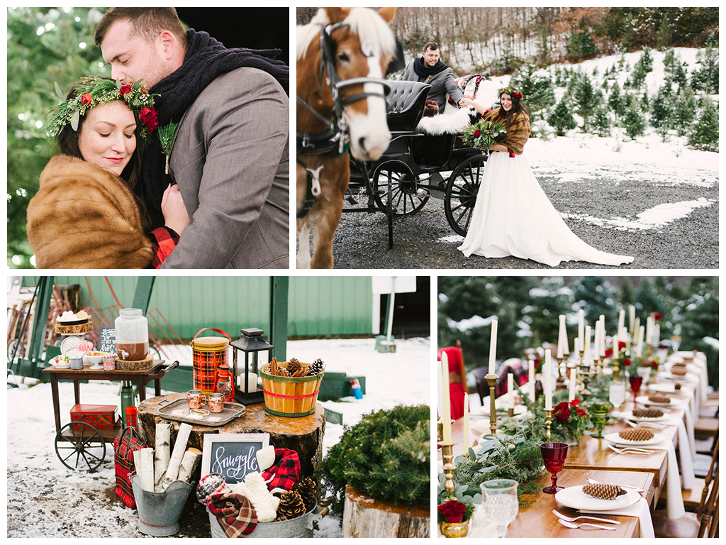 идеи для свадьбы в декабре