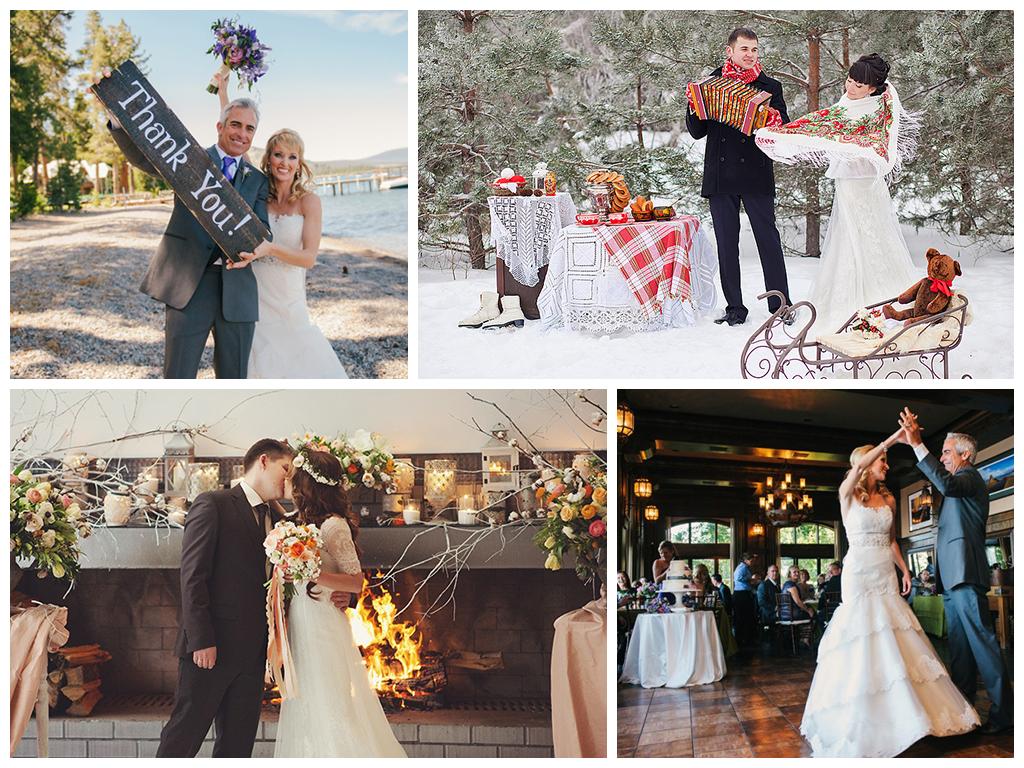 идеи для свадьбы в феврале