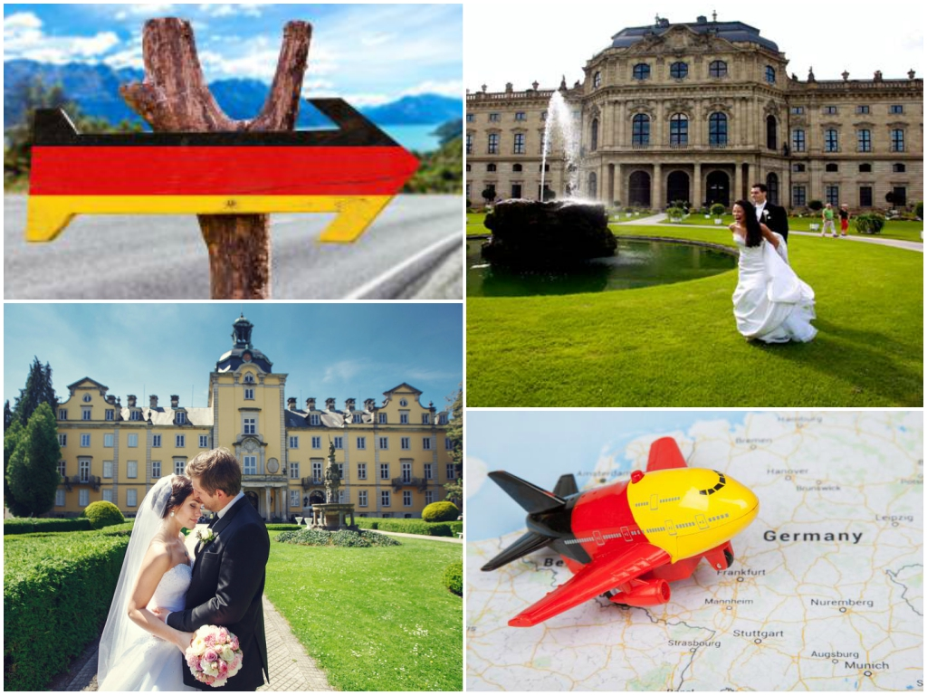 как организовать свадьбу в германии