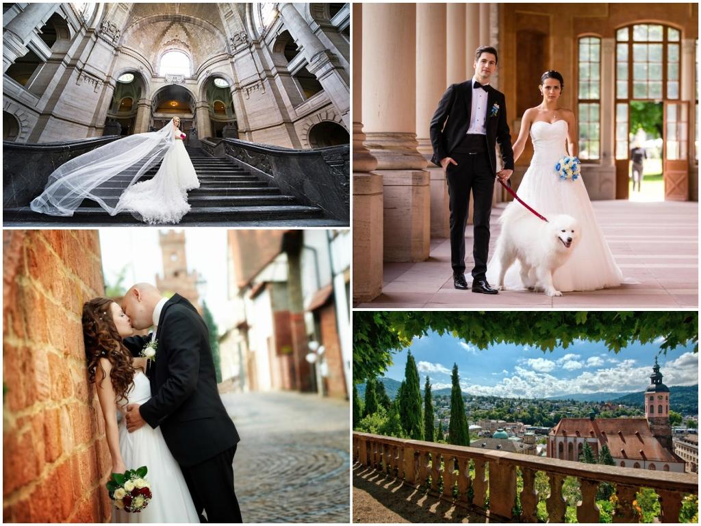 свадьба в Баден-Бадене в германии